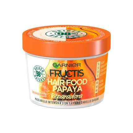 Garnier Fructis Papaya Hair Food Regenerująca Maska do Włosów