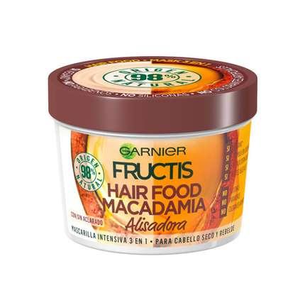 Garnier Fructis Macadamia Hair Food Wygładzająca Maska do Włosów