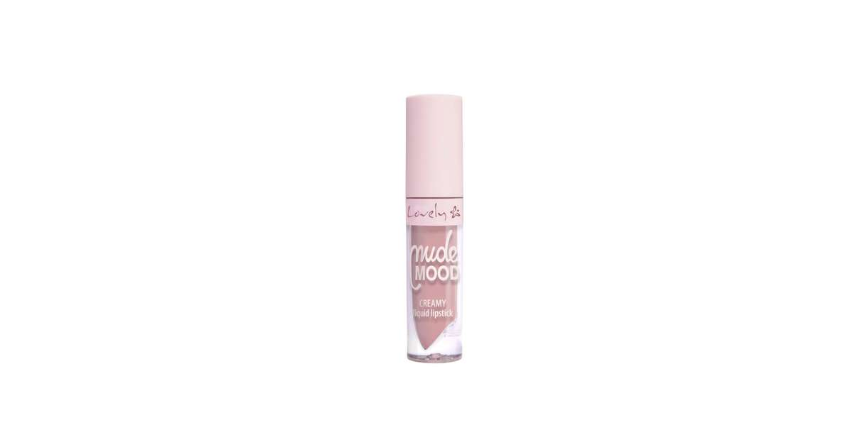 Lovely Nude Mood Creamy Liquid Lipstick — Wibo Estonia